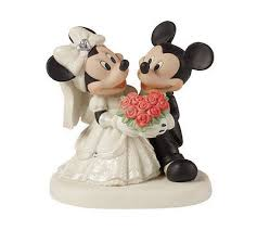 bride groom mickey minnie mouse precious moments wedding dress tux