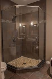 Bathroom Shower Designs Pictures Exellent Tile Corner Showers Bold Firetruckred With Pristine White
