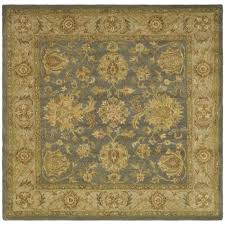 Square Wool Rug Safavieh Handmade Antiquities Jewel Grey Blue Beige Wool Rug 6