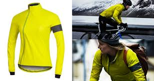 mens hi vis waterproof cycling jacket pearl izumi select barrier convertible women u0027s