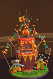 78 best big top cakes images on pinterest circus cakes circus