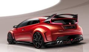 honda civic r 2015 honda civic type r looks devilish in teaser photo
