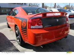 2009 dodge charger bee 2009 dodge charger srt 8 bee in hemi orange pearl photo 3