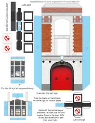 ghostbusters firehouse papercraft u2013 dave u0027s geeky ideas