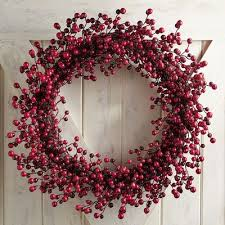 glittered berry wreaths pier 1 imports decor