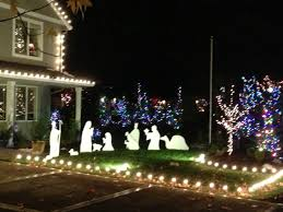 outdoor nativity decorations rainforest islands