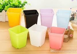 Square Plastic Planters by Wholesale Flower Pots Mini Flowerpot Garden Degradable City Square