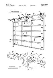 Garage Door Counterbalance Systems by Patent Us5239777 Overhead Door Pre Loaded And Pre Assembled