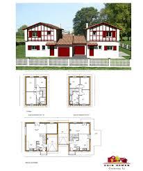 plan maison en u ouvert plan maison mitoyenne