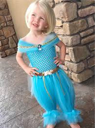 princess jasmine halloween jasmine princess dress genie costume princess dress