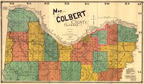 County Map Of Alabama 1896 Colbert County Map Shows U201csouth Florence U201d U2013 Shoals History