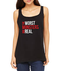 jeep tank top the worst monsters are real