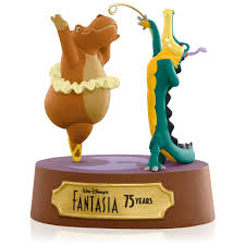 disney fantasia hippo and alligator ornament