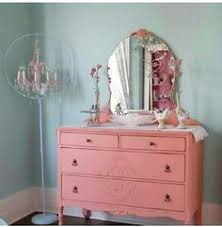 Pink Shabby Chic Dresser by Painted Dresser Painted Furniture Diy Stripes Peekaboo Drawers