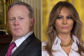 melania trump is not happy with sean spicer report new york post