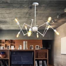 Retro Pendant Lighting Adjustable Nordic Retro Pendant Lights Hanging Spider Light