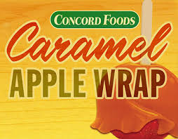caramel apple wraps where to buy concord foods caramel apple wrap on behance