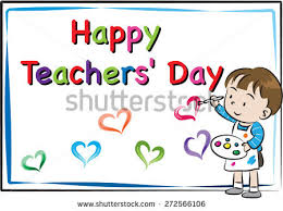 happy s day cards happy teachers day card stock vector 272566106