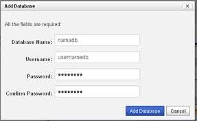 cara membuat database baru mysql cara membuat database baru di ipage hosting centerklik