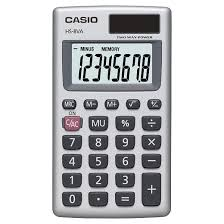 Bench Press Calculater Casio Hs8va Solar Powered Pocket Calculator Silver Target