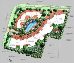 Architectural Plan Contemporary Landscape Architecture Plan Fleagorcom