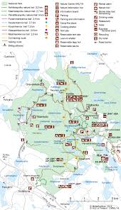 gt cus map nuuksio national park directions and maps nationalparks fi