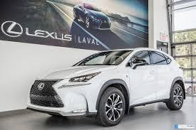 lexus hybrid a vendre pre owned 2016 lexus nx 200t f sport 2 navigation gps in laval