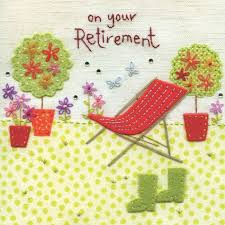 retirement card finished deckchair on your retirement card karenza paperie