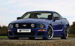 fifth generation mustang prior design tunes the 5th generation ford mustang autoevolution