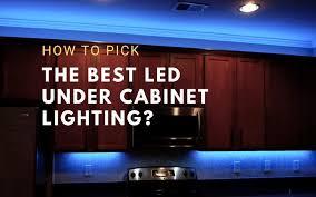 best cabinet lighting in best led cabinet lighting hardwired linkable 2021
