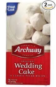 wedding cake cookies archway wedding cake cookies two 6 oz boxes