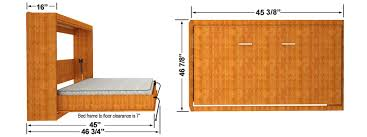 full size murphy bed cabinet horizontal easy diy murphy dimensions easy diy murphy bed
