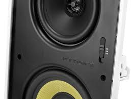home theater wall speakers caliber in wall speakers 6 5 inch fiber 3 way with concentric mid