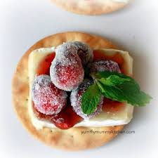sparkling cranberry brie bites mummy kitchen a vibrant