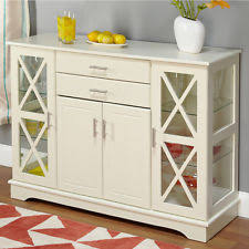 Glass Buffet Furniture by Contemporary Wood Glass Sideboards U0026 Buffets Ebay