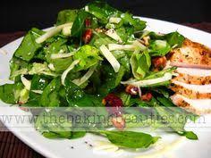 winter salad with lemon poppy seed dressing salads pinterest