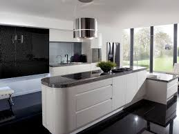 White Kitchen Cabinets With Black Island by Kitchen Cabinets Stunning Modern Kitchen With Floating