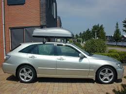 lexus altezza gita picking up the lexus oem roof rack tonite u003d now with real pic