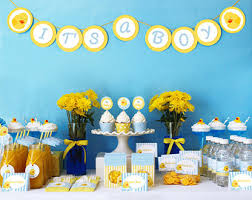 Rubber Ducky Baby Shower Centerpieces by Duck Baby Shower Etsy