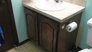 Refacing Bathroom Vanity How To Reface Bathroom Cabinets And Replace Doors Homesteady