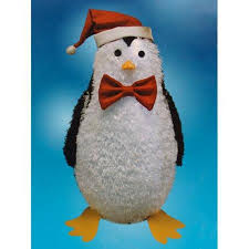 Outdoor Christmas Decorations Sale Cheap by Penguin Outdoor Christmas Decorations Large Lighted Outdoor