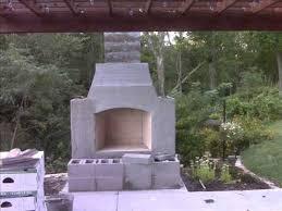 Firerock Masonry Fireplace Kits by Fire Rock Outdoor Fireplace Built By Mike U0026 Nancy Watson 9 25 2010