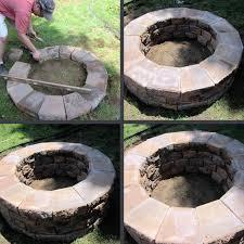 Build A Backyard Fire Pit by How To Build A Cheap Fire Pit U2014 Jburgh Homes Best Diy Backyard