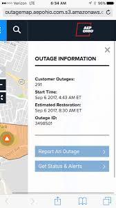Aep Ohio Outage Map by Frank Dicarlantonio Frankdicar Twitter