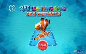 3d learning card sea animals android apps on google play