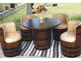 Barrel Bar Table Barrel Art On Pinterest Wine Barrels Wine Barrel Furniture And