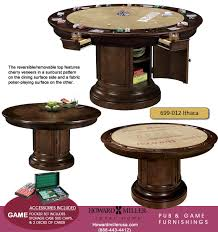 howard miller pub u0026 poker gaming table distressed cherry 699012 ithaca