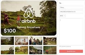 gift card offers save 50 on airbnb through amex offers one mile at a time