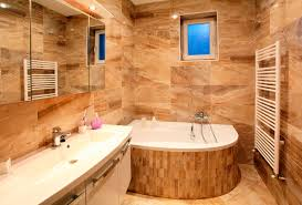 rustic bathroom remodel ideas with textural wooden accentuate