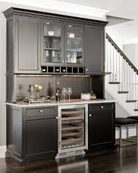 built in wine bar cabinets room by room inspiration series the kitchen wine bars